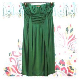 Summer dress- emerald green/ jade